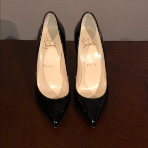 AUTHENTIC Christian Louboutin Pigalle (worn once)